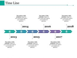 Time Line Ppt Styles Slides