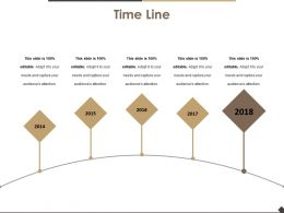 Time Line Presentation Powerpoint Templates