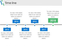 Time Line Sample Of Ppt Presentation