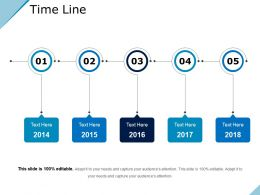 Time Line Sample Ppt Presentation
