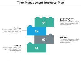 Time Management Business Plan Ppt Powerpoint Presentation Slides Visual Aids Cpb