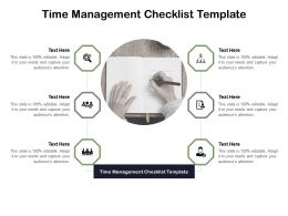 Time Management Checklist Template Ppt Powerpoint Show Example Cpb