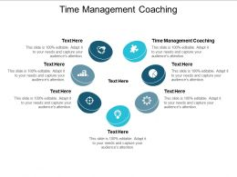 Time Management Coaching Ppt Powerpoint Presentation Ideas Infographic Template Cpb
