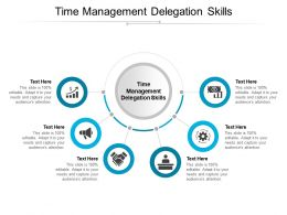 Time Management Delegation Skills Ppt Powerpoint Presentation Model Gallery Cpb