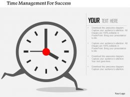 time_management_for_success_flat_powerpoint_design_Slide01
