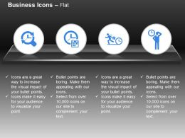 Time Management For Various Business Activity Ppt Icons Graphics