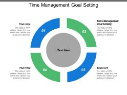 Time Management Goal Setting Ppt Powerpoint Presentation Model Maker Cpb