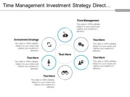 Time Management Investment Strategy Direct Marketing Operations Management Cpb