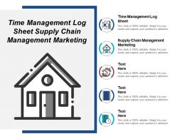 Time Management Log Sheet Supply Chain Management Marketing Cpb
