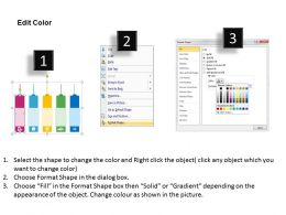 time_management_number_tags_flat_powerpoint_design_Slide04