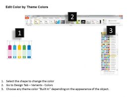 time_management_number_tags_flat_powerpoint_design_Slide05