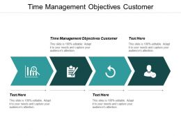 Time Management Objectives Customer Ppt Powerpoint Presentation Show Deck Cpb