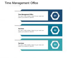 Time Management Office Ppt Powerpoint Presentation Gallery Skills Cpb