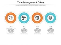 Time Management Office Ppt Powerpoint Presentation Slides Design Ideas Cpb