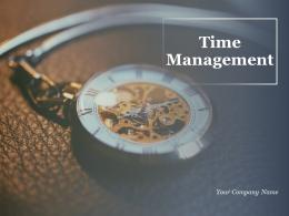 Time Management Powerpoint Presentation Slides