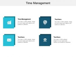 Time Management Ppt Powerpoint Presentation Ideas Templates Cpb