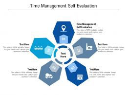 Time Management Self Evaluation Ppt Powerpoint Presentation Styles Example Introduction Cpb