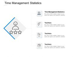 Time Management Statistics Ppt Powerpoint Presentation File Master Slide Cpb
