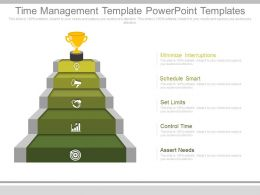 Time Management Template Powerpoint Templates