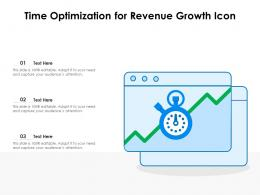 Time Optimization For Revenue Growth Icon