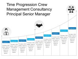 Time Progression Crew Management Consultancy Principal Senior Manager