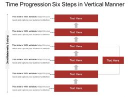 Time Progression Six Steps In Vertical Manner