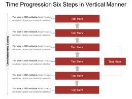 Time Progression Six Steps In Vertical Manner