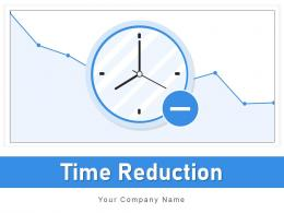 Time Reduction Gear Financial Service Analogue Downward Arrow