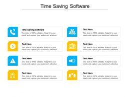 Time Saving Software Ppt Powerpoint Presentation Portfolio Slide Portrait Cpb