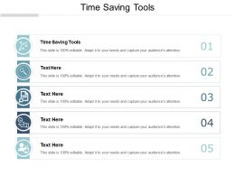 Time Saving Tools Ppt Powerpoint Presentation Gallery Display Cpb