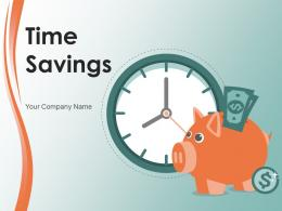 Time Savings Businessman Arrows Dollars Concept