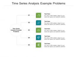 Time Series Analysis Example Problems Ppt Powerpoint Presentation Topics Cpb