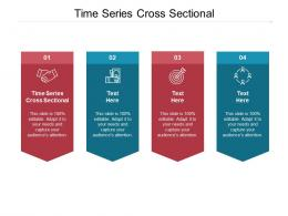Time Series Cross Sectional Ppt Powerpoint Presentation Show Samples Cpb