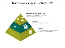 Time Series Vs Cross Sectional Data Ppt Powerpoint Presentation Inspiration Visual Aids Cpb
