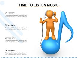 Time To Listen Music