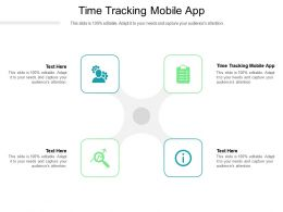 Time Tracking Mobile App Ppt Powerpoint Presentation Model Themes Cpb