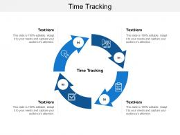 Time Tracking Ppt Powerpoint Presentation File Skills Cpb