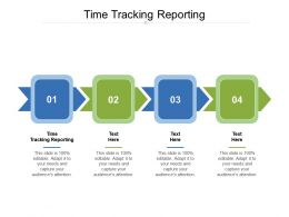 Time Tracking Reporting Ppt Powerpoint Presentation File Master Slide Cpb