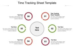 Time Tracking Sheet Template Ppt Powerpoint Presentation Inspiration Cpb