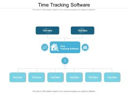Time Tracking Software Ppt Powerpoint Presentation Icon Slides Cpb