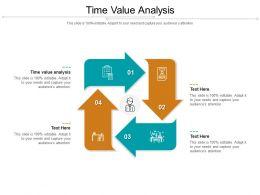 Time Value Analysis Ppt Powerpoint Presentation Infographic Template Show Cpb