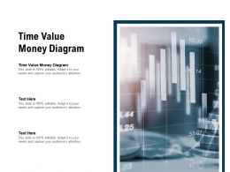 Time Value Money Diagram Ppt Powerpoint Presentation Infographic Template Outline Cpb
