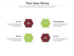 Time Value Money Ppt Powerpoint Presentation Icon Elements Cpb