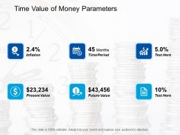 Time Value Of Money Parameters Finance Ppt Professional Example Introduction