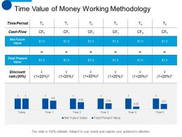 Time Value Of Money Working Methodology Marketing Ppt Professional Example Introduction