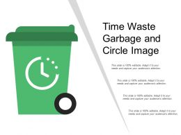 Time Waste Garbage And Circle Image