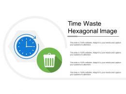 Time Waste Hexagonal Image