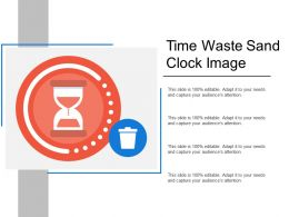Time Waste Sand Clock Image