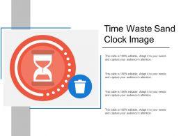 Time Waste Sand Clock Image