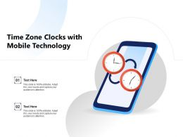 Time Zone Clocks With Mobile Technology